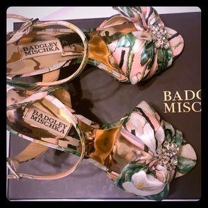 Badgley mischka Samantha heels.